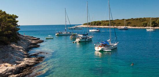 Хорватия - яхты